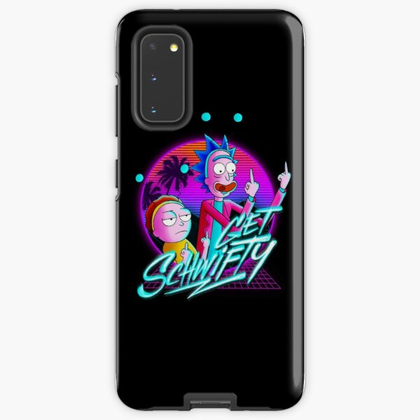 rick and morty get schwifty Samsung Galaxy Tough Case
