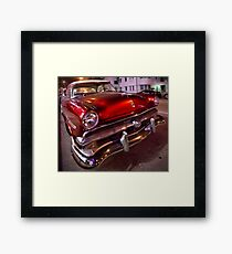 Miami Cruiser Framed Print