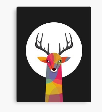 So Serious Canvas Print