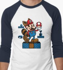 Vintage Mario Men's Baseball ¾ T-Shirt