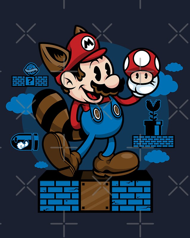 quotvintage marioquot posters by harebrained redbubble