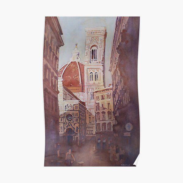 And Suddenly, The Duomo Poster