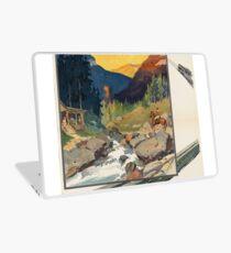 Vintage poster - National parks Laptop Skin