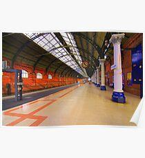 Platform 4, Darlington Bank Top Station, England Poster