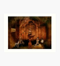 The Great Puzzle Art Print