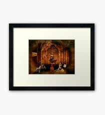 The Great Puzzle Framed Print