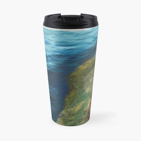 Coastal Cliffs Travel Mug