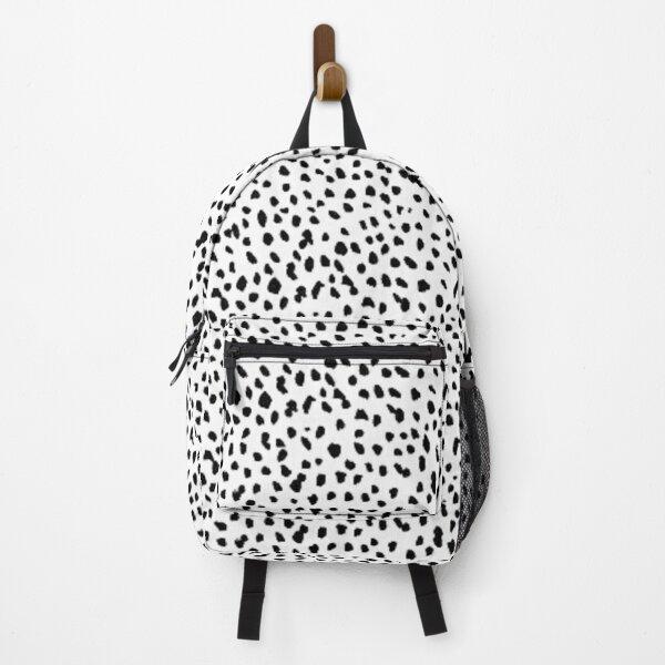 Dalmatian Dots Print Backpack