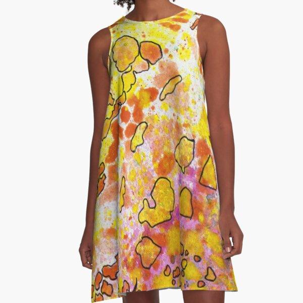9, Inset B A-Line Dress