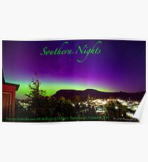 Southern Nights poster Poster