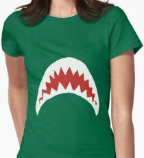 Sharkie Womens Fitted T-Shirt