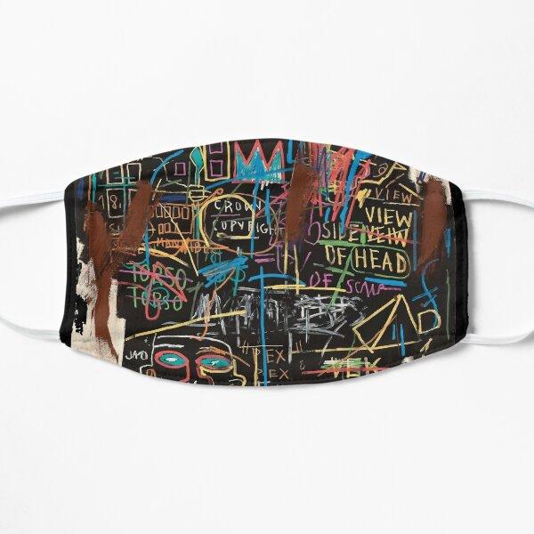Vectorised famous New York street art / pop art from the 70s. Flat Mask