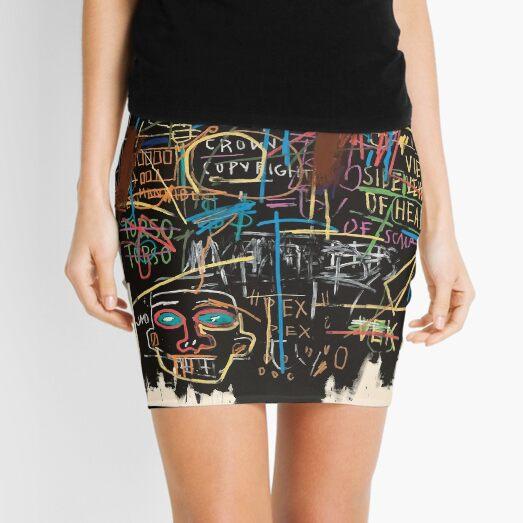 Vectorised famous New York street art / pop art from the 70s. Mini Skirt