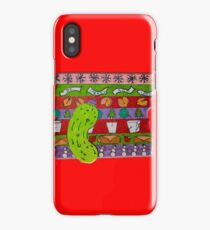 A Mid-west Christmas iPhone Case