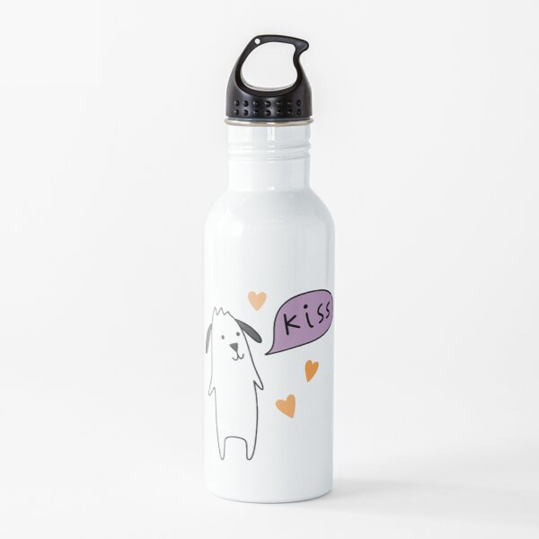 Kiss - Snapchat Dog Water Bottle
