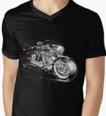 Skeleton Rider Men's V-Neck T-Shirt