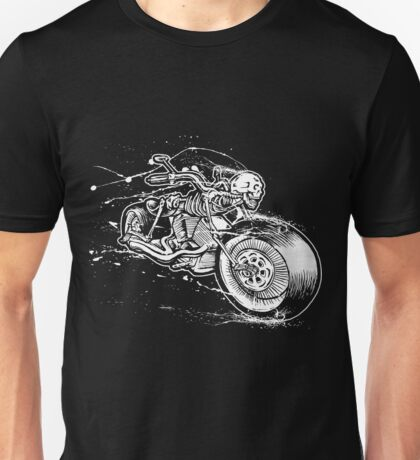 Skeleton Rider Unisex T-Shirt