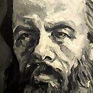 Dostoevsky Fyodor, again, in progresssssssss. by Natasa Ristic