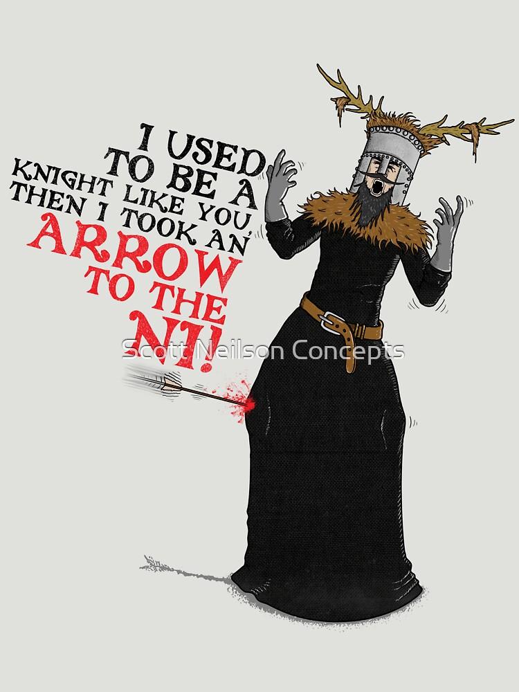Arrow To The Ni!! | Unisex T-Shirt