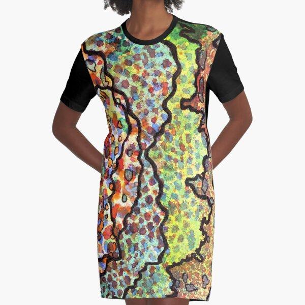 11, Inset A Graphic T-Shirt Dress