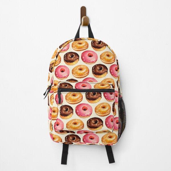 Donut Pattern Backpack