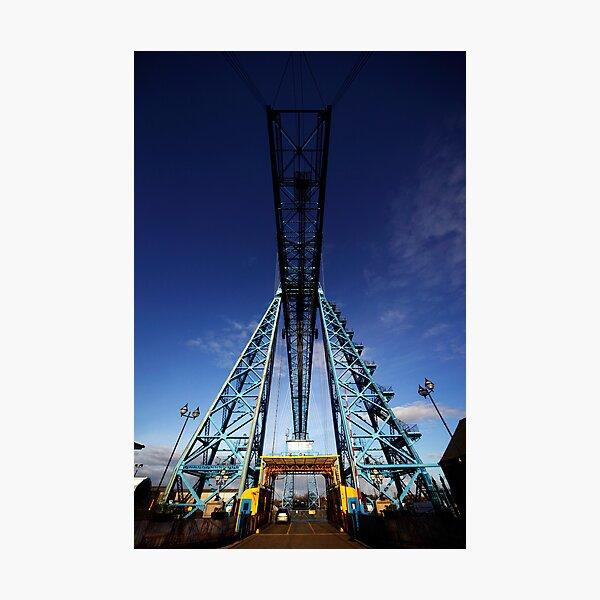 Tees Transporter Bridge, Middlesbrough (NE England) Photographic Print
