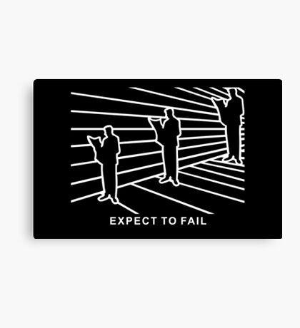 Ames Room - Expect to Fail VRS2 Canvas Print