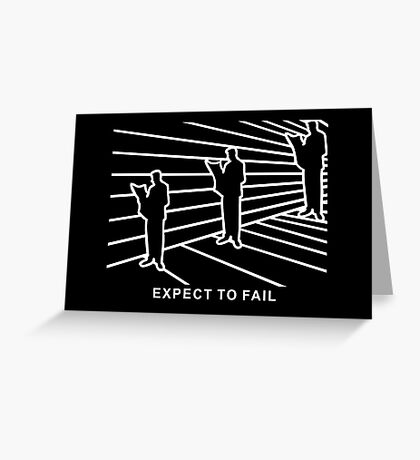 Ames Room - Expect to Fail VRS2 Greeting Card