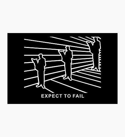 Ames Room - Expect to Fail VRS2 Photographic Print