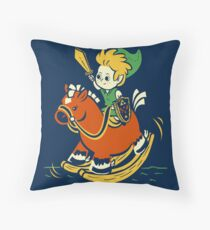 A Link in the Past Throw Pillow
