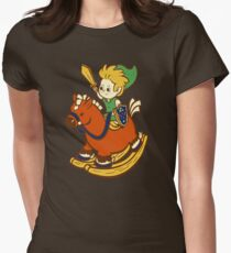 A Link in the Past Womens Fitted T-Shirt
