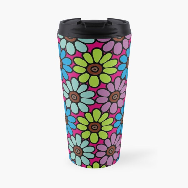 Daisy Chain Travel Mug