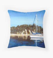 fraser island Throw Pillow