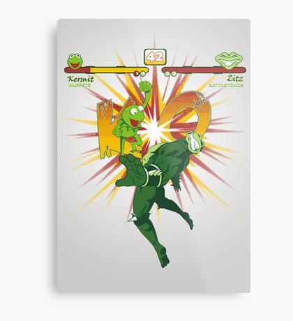SWAMP FIGHTER Metal Print