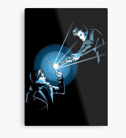 BARTY VS DOCTOR Metal Print