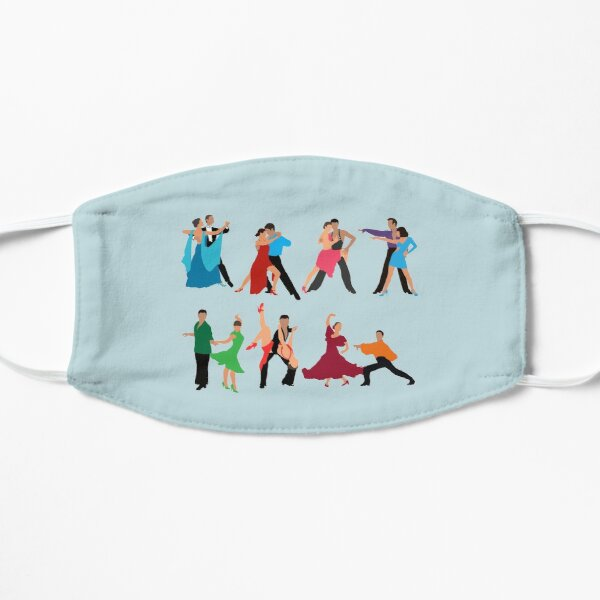 Ballroom Couples Dancing Mask