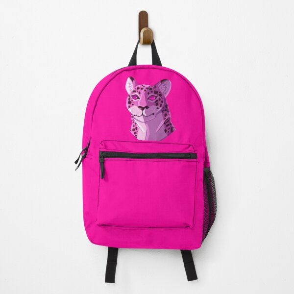 Kipo Pink/Purple Jaguar  Backpack