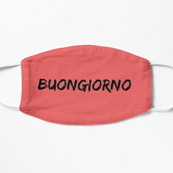 Buongiorno Italian shirt Flat Mask