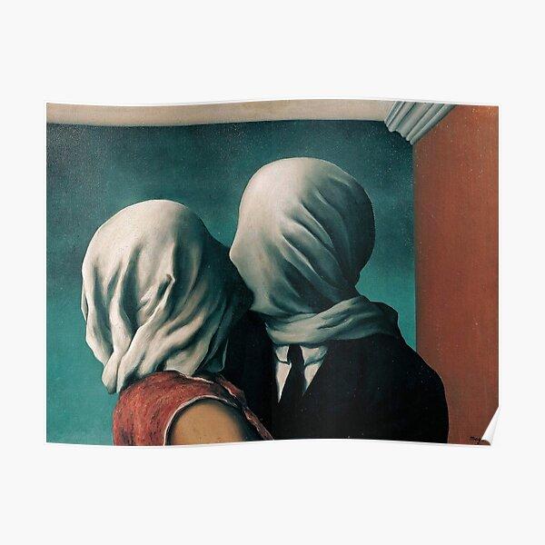 Magritte Die Liebenden