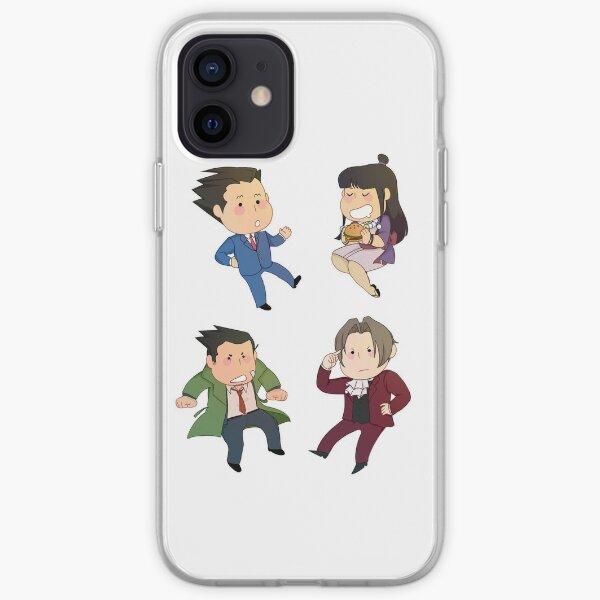 Phoenix Wright iPhone Soft Case