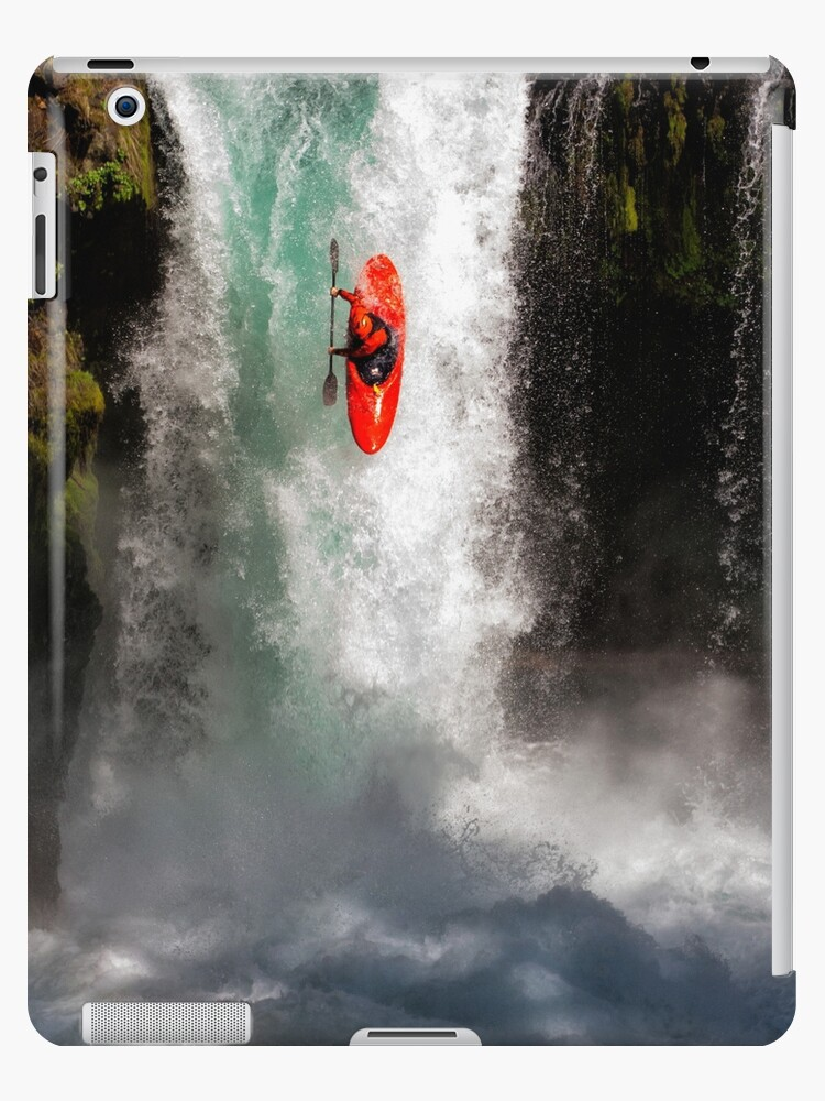 wholesale dealer 52c7c 1a992 'Extreme Waterfall Kayaking' iPad Case/Skin by DaleCody