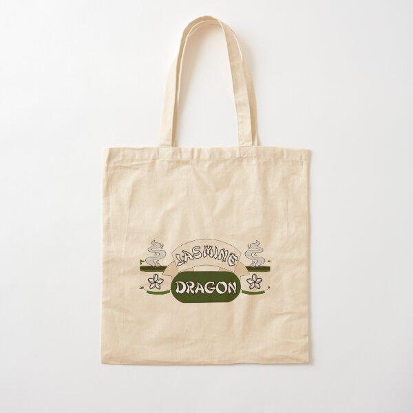 Jasmine Dragon Cotton Tote Bag