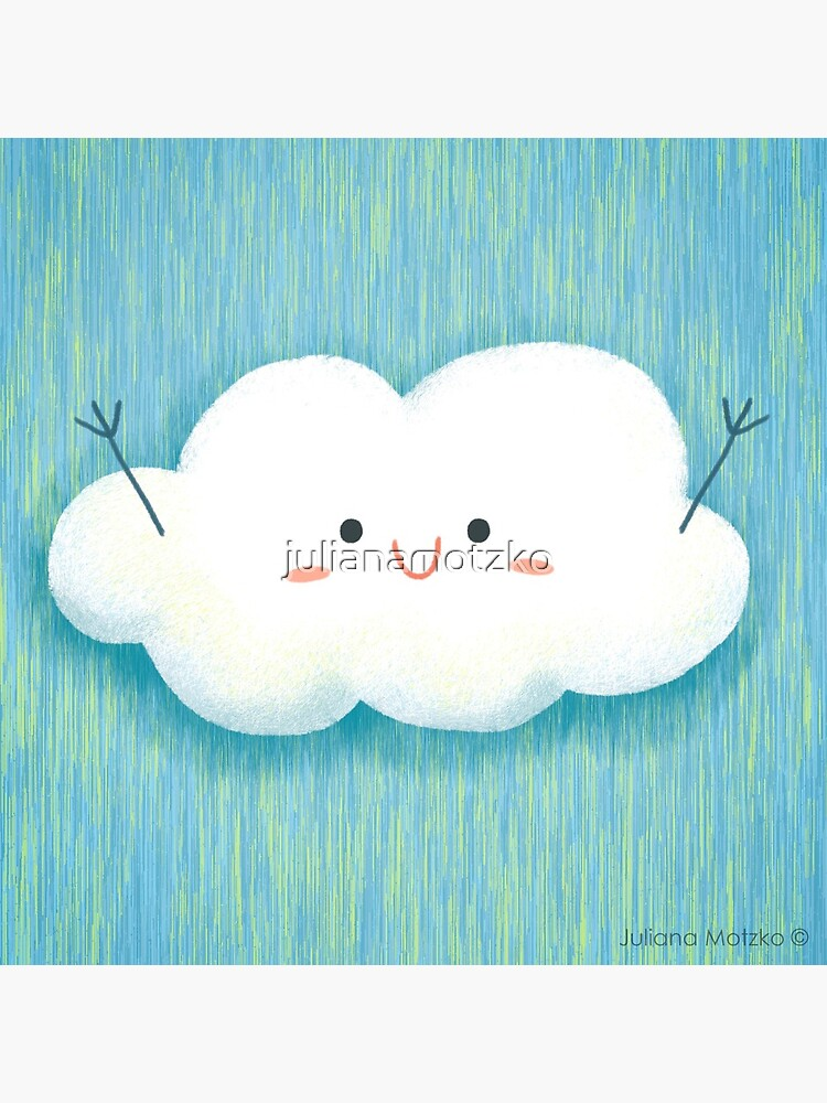 Happy Hug Cloud by julianamotzko
