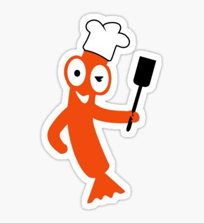 Sausage Cook VRS2 Sticker