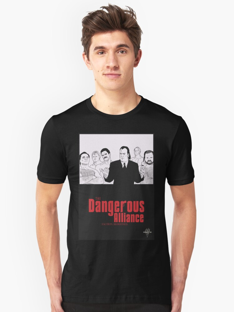 'DANGEROUS ALLIANCE - Faction  Redefined ' T-Shirt by Rainmaker inc