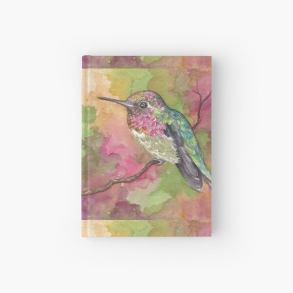 Anna's Hummingbird, Sonoran Desert Hardcover Journal
