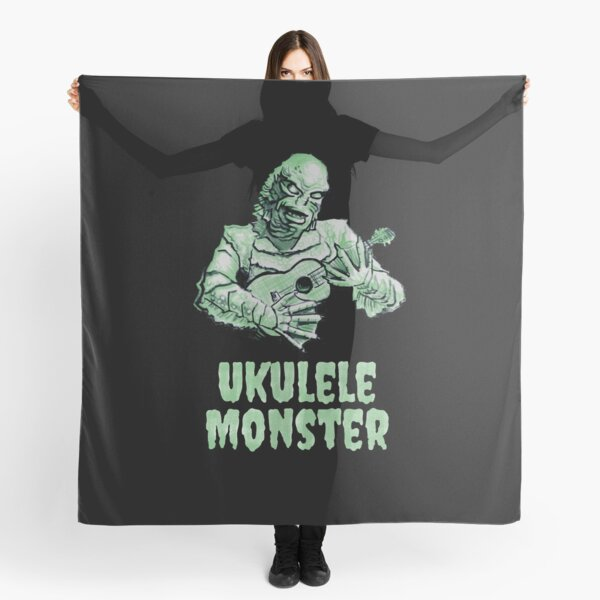 Ukulele Monster - Fishie Scarf