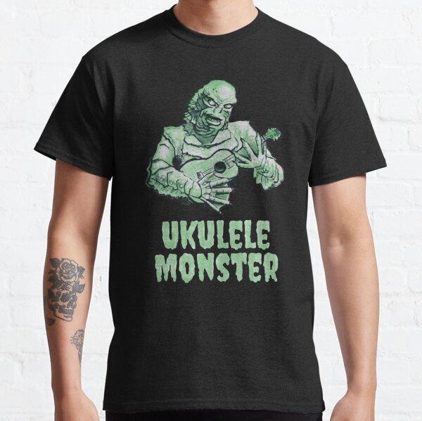 Ukulele Monster - Fishie Classic T-Shirt