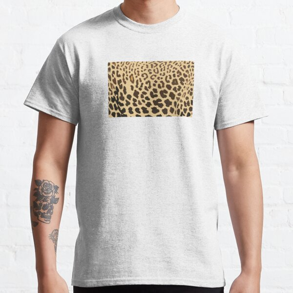 Art Inspired by Nature, Leopard Animal, Art, Illustration Classic T-Shirt