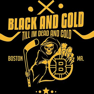 Black and gold - Boston Bruins by adamben